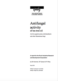 RIRDC 1 - Anti Fungal  Activity of Tea T