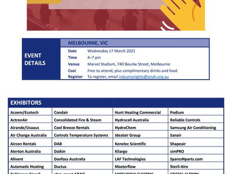Melbourne - Trade Show 17th March 2021