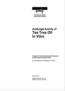 RIRDC 2 - Anti Fungal Activity in Vitro
