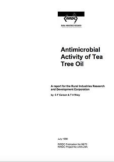 RIRDC 5 - Antimicrobial Activity of Tea