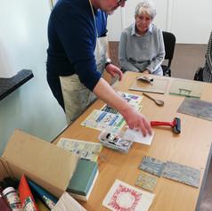 Lino Printing with Iain Hodgkinson