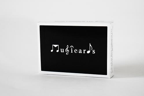 Musicards Elegant Black