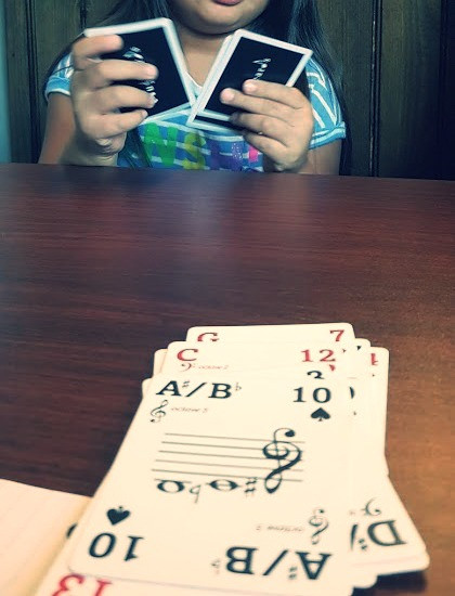 Musicards: card game for all ages music theory