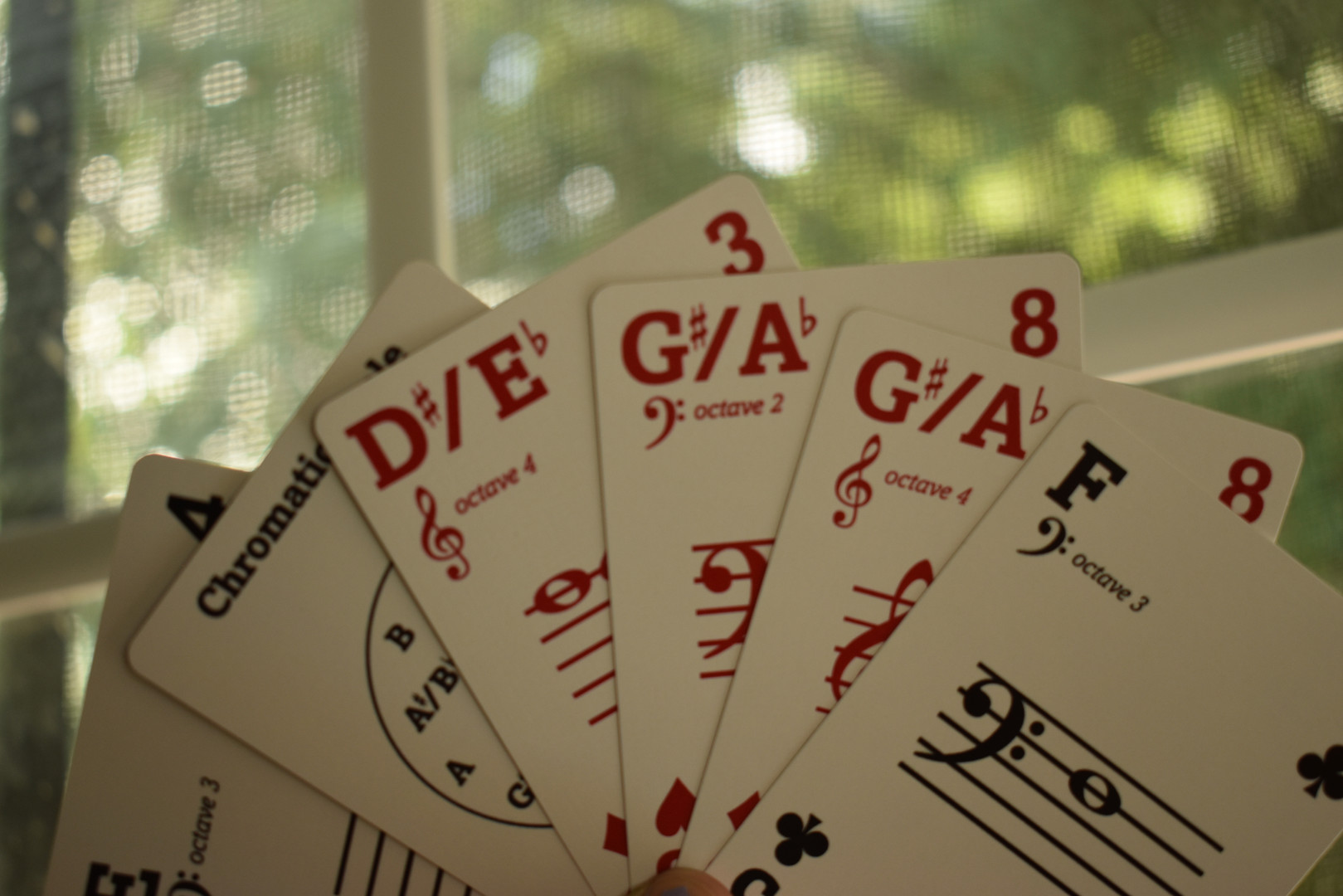 Musicards deck