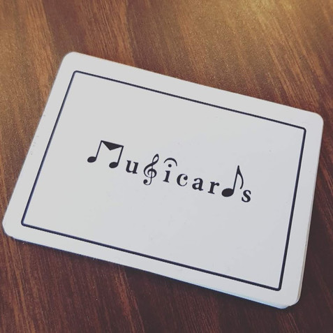 Musicards deck Music Theory Learning