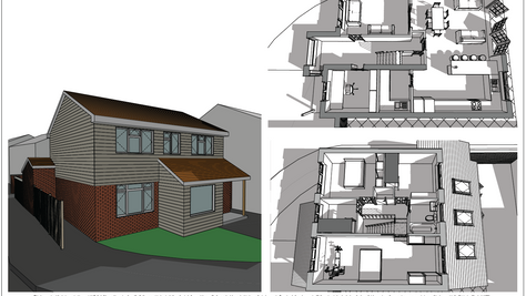 Before and After CG Videos of Planning Approved Extension