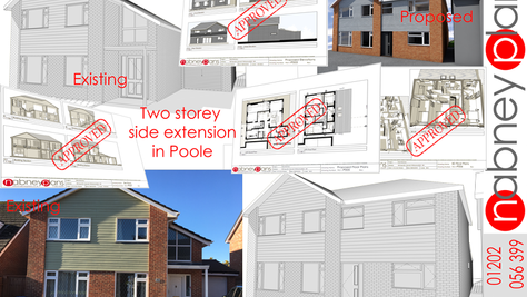 Back of the Net! Two Storey Extension Approved