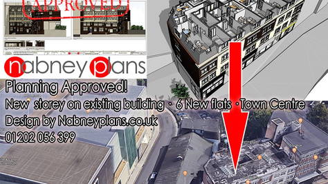 Six New Flats Approved in Bournemouth Town Centre!