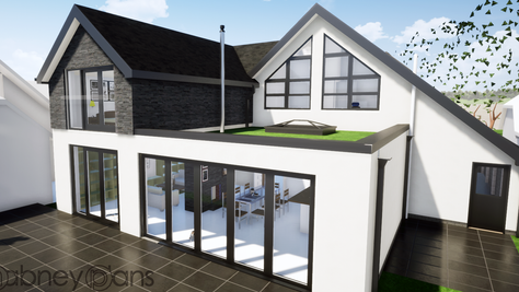 Planning approved: major alterations to bungalow in Bournemouth