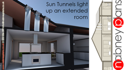 Light at the end of the sun tunnel!