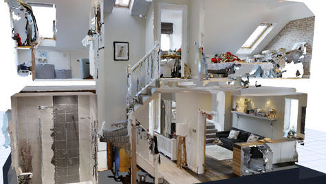 3D Laser scanning helps produce highly accurate as-existing plans and surprises with previously unkn