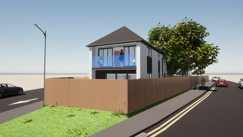 Won on Appeal - small cottage to become dramatic family home.