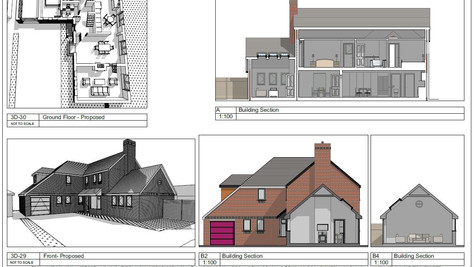 Planning Approved for a Side Extension and Garage Conversion in Bournemouth