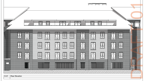 As-existing plans & elevations required for a planning app on a large building? No Problem.