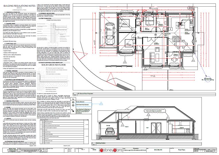 Building Regulations Drawings