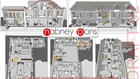 Easy visualisations of your project as the design evolves - all part of the service!