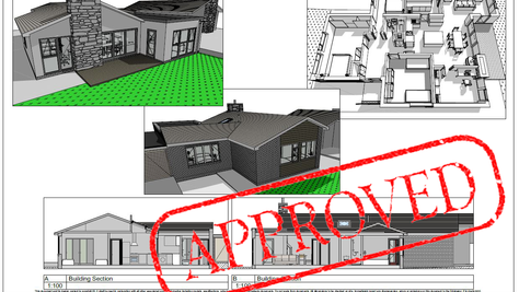 Planning Approved for Christchurch bungalow extension