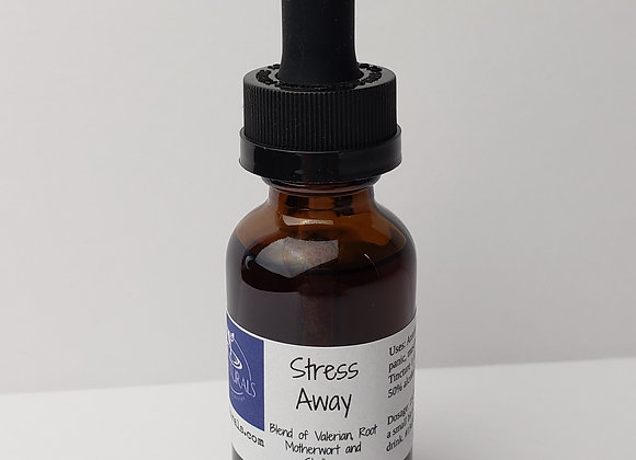 Stress Away Tincture (1 oz) Blend of Herbs