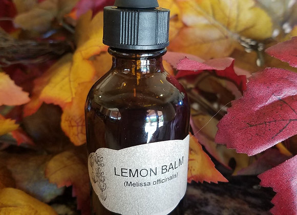 Lemon Balm Tincture (1 FL OZ) - Relaxant and antidepressant