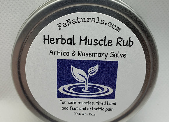 Herbal Muscle Rub (Arnica with Rosemary)