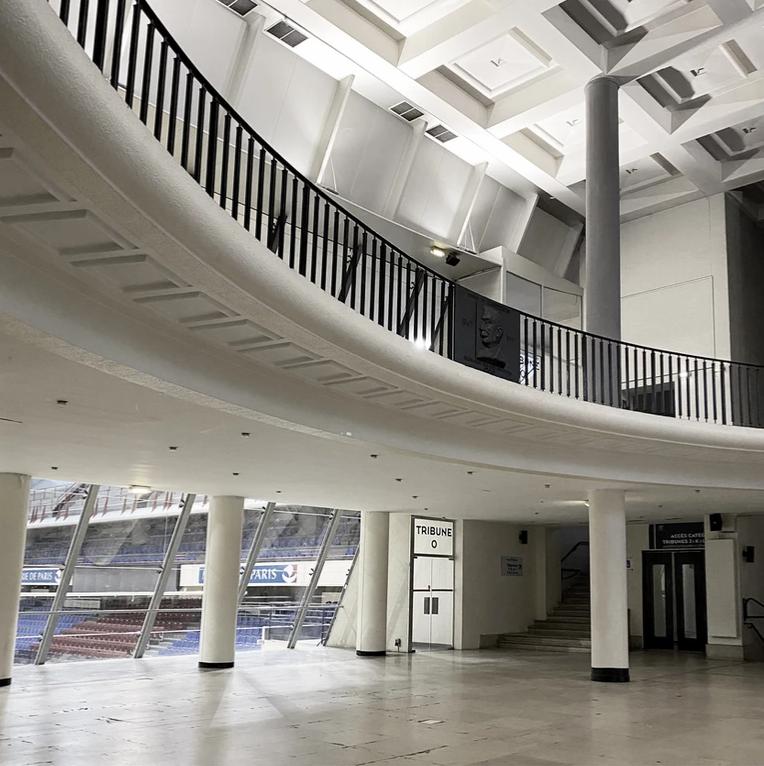 Photo du stade Pierre de Coubertin à Paris
