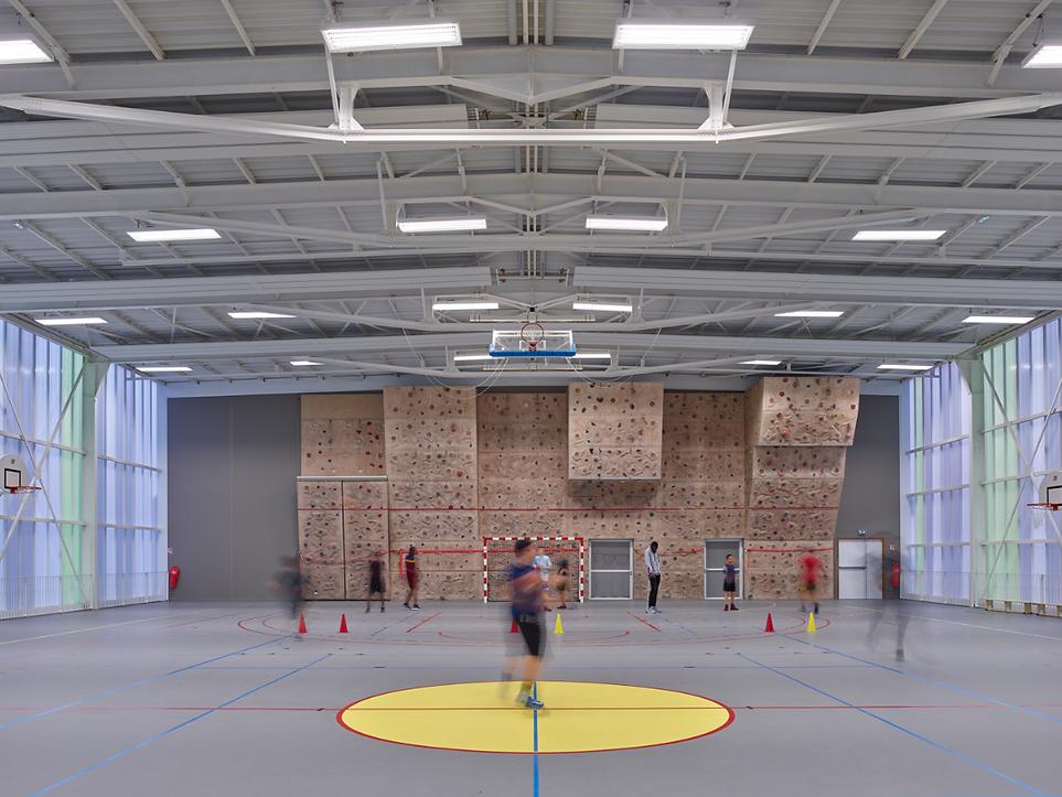 Photo du Gymnase Romain Rolland à Epinay-sur-Seine