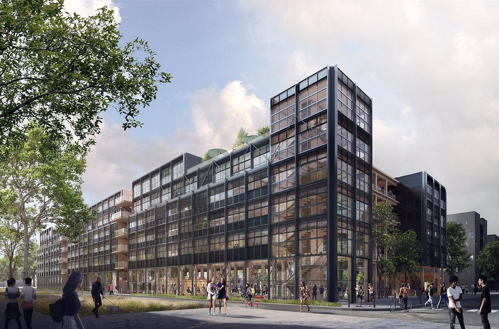 Modélisation 3D de la résidence étudiante à Orsay