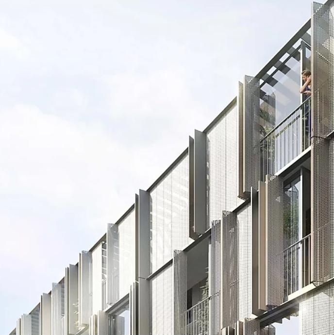 Modélisation 3D de la Crèche et des logements à Paris