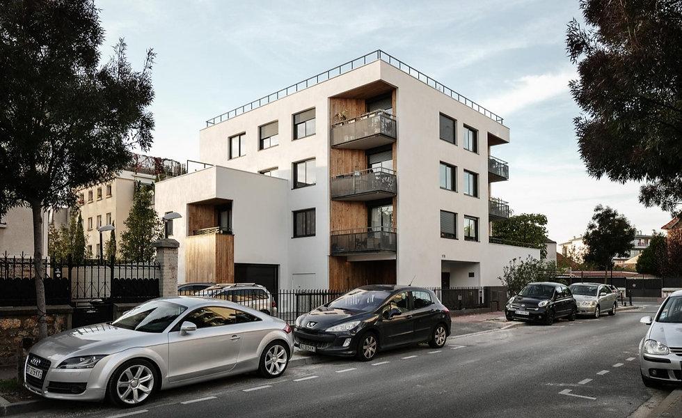 Photo de l'immeuble de logements et commerce à Saint-Maur-des-Fossés