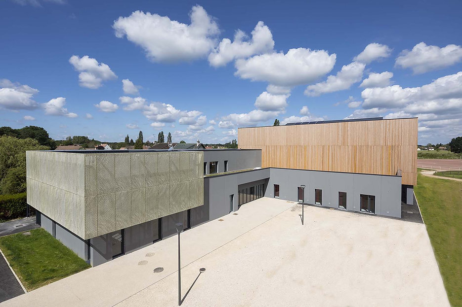 Photo du Gymnase BEPOS à Le Perray en Yvelines