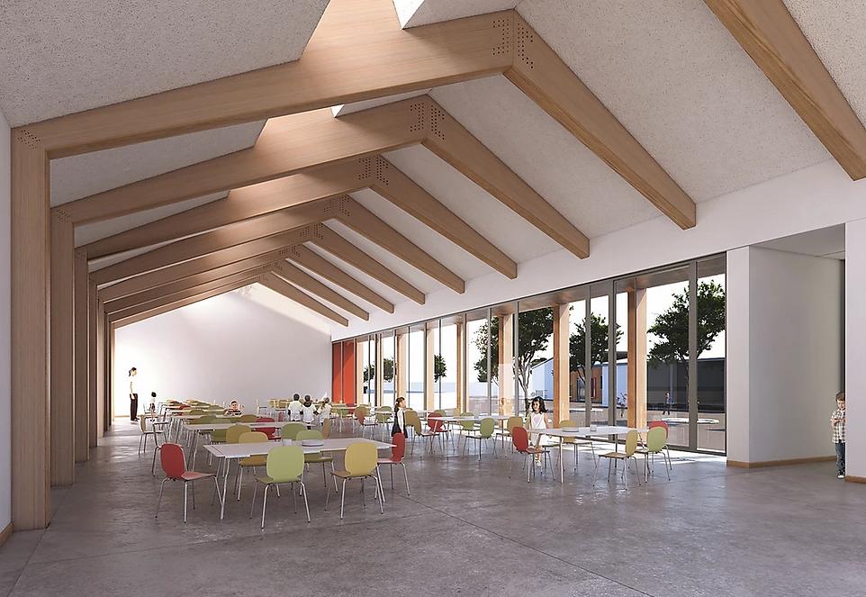 Modélisation 3D de la cité Scolaire Saint Lubin à Boissy-sous-Saint-Yon