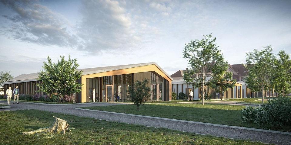 Modélisation 3D du SSR du Centre Hospitalier à Pont-de-Beauvoisin