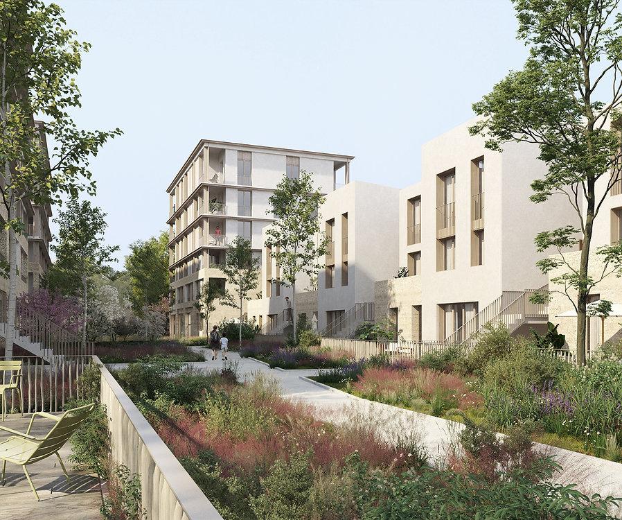 Modélisation 3D des logements collectifs et intermédiaires à Gif-Sur-Yvette