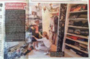 Schrankwunder in der Zeitschrift Heute. Gaderobencheck und Stilberatung
