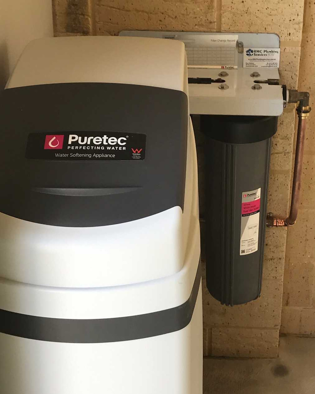 Puretec Water Softener & Water Filter