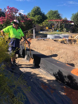 Leach Drain and Septic System