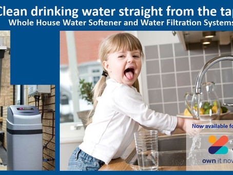 Clean drinking water straight from the tap!