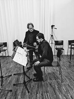 Maurizio Pisati and Ruben Mattia Santorsa