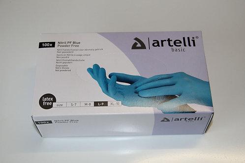 Artelli - Wegwerphandschoenen nitril 100st/doos