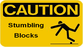 Stumbling block