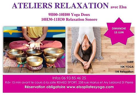 Ateliers  Elsa Relaxation du week-end 13