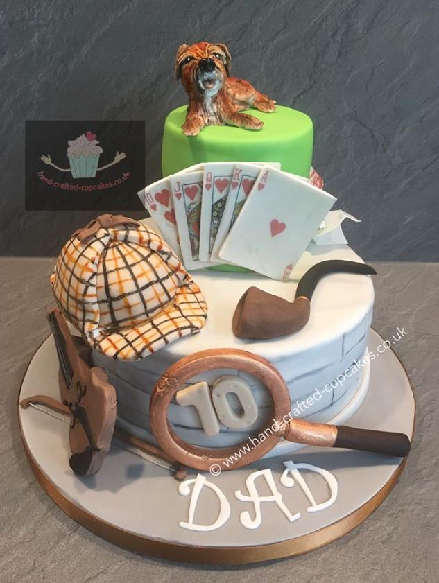 SHC-310-Sherlock-Holmes-Card-Cake