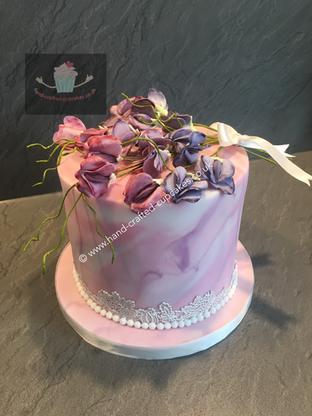 WC-160-Single-Marble-Wedding-Cake
