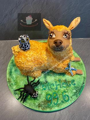 WBC-450-Llama-Cake