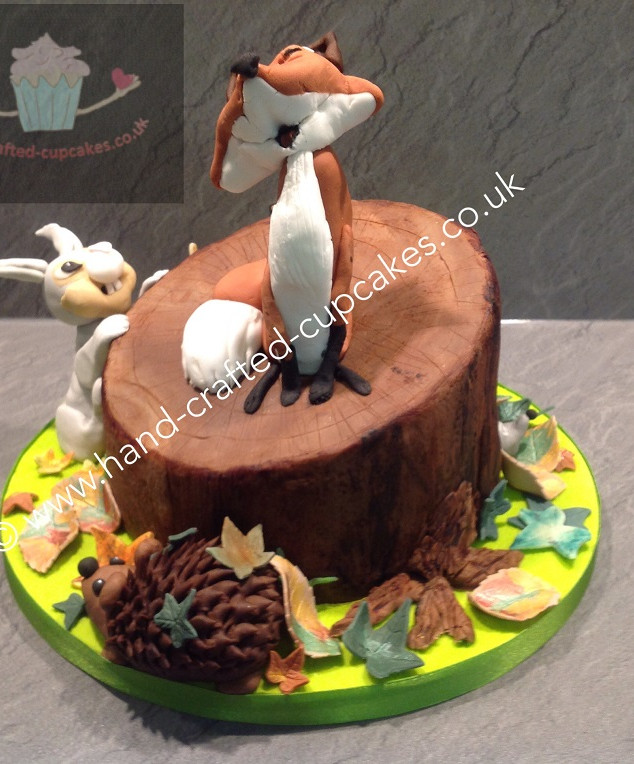 TAC-140-Woodland-Creatures-Cake