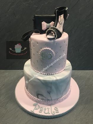 FC-110-Black-Shoe-Fashion-Cake