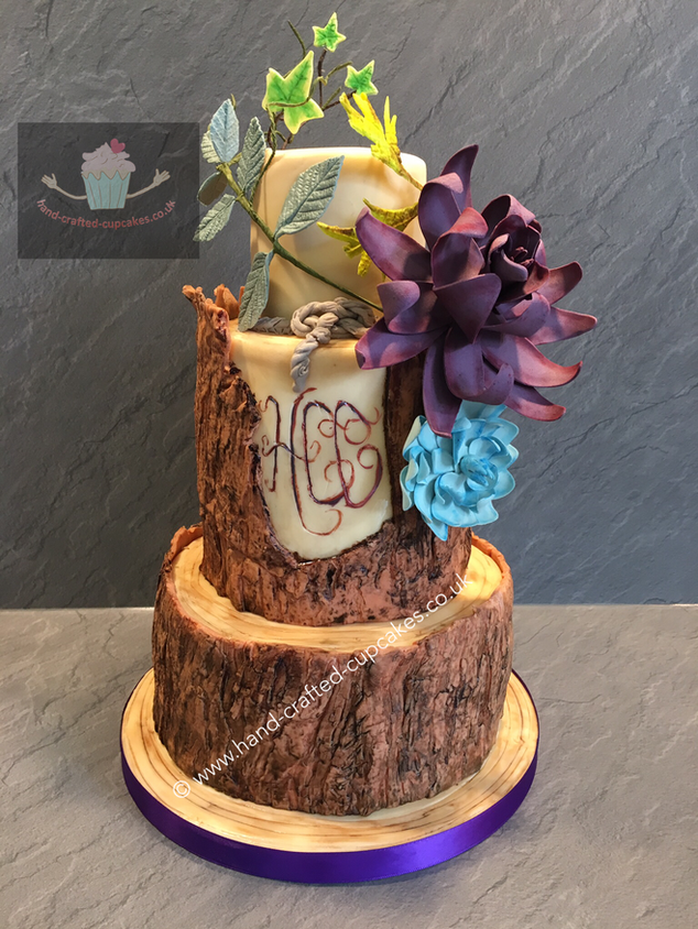 WC-180-Triple-Tier-Log-Wedding-Cake