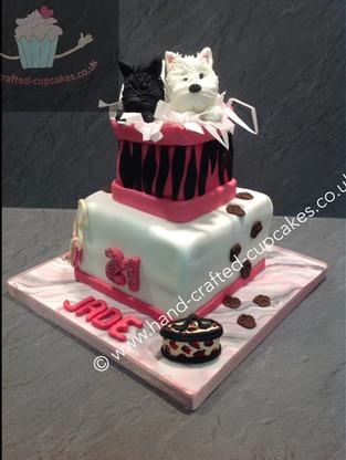 WBC-140-Dogs-In-Box-Cake