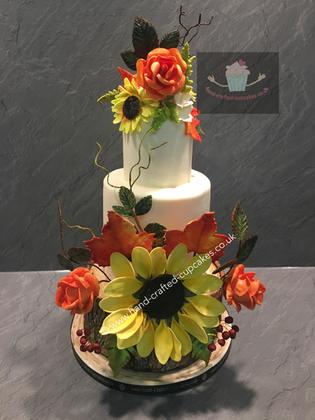 FDC-280-Sunflower-Wedding-Cake