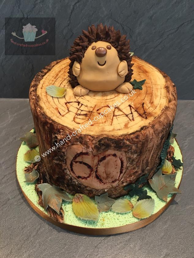 WBC-210-Hedgehog-Log-Cake